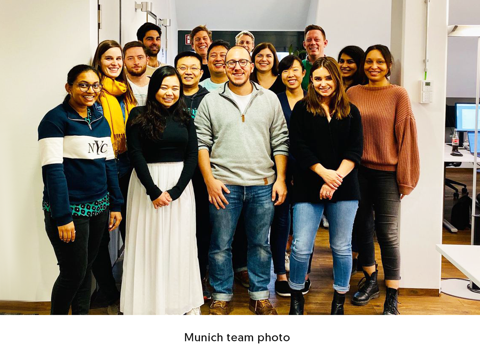 Munich team photo