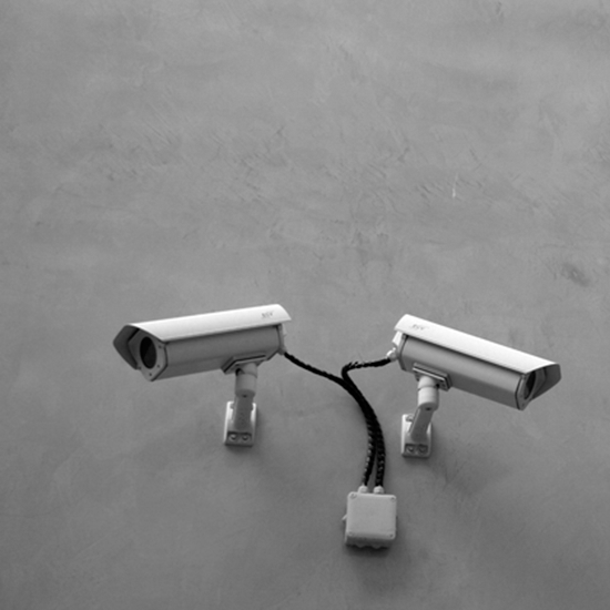 Smaller picture of surveillance system with two cameras